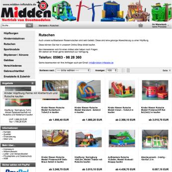 Aufblasbare Kinder Riesen Rutsche online kaufen
