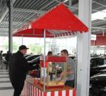 Marktstand Popcornmaschine mieten leihen