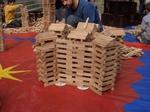 Holzklötze mieten leihen