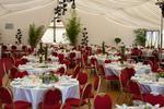 Zelt inkl. Bestuhlung und Stoff Gala Veranstaltung