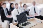 Mikrofon Rednerpult mieten leihen